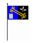 Surrey Council Hand Flag - Small.